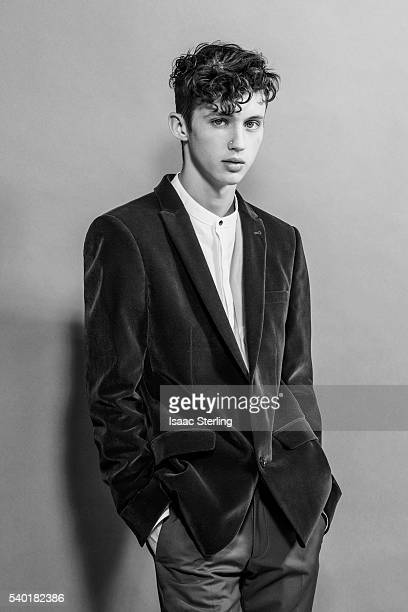 Musician Troye Sivan is photographed for Ladygunn on January 22 2016 in Los Angeles California