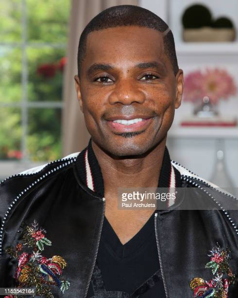Musician / TV Personality Kirk Franklin visits Hallmark's Home Family at Universal Studios Hollywood on June 03 2019 in Universal City California