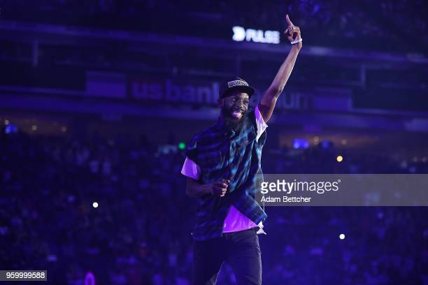 Musician Tye Tribbett performs at Pulse Twin Cities at US Bank Stadium on May 18 2018 in Minneapolis Minnesota