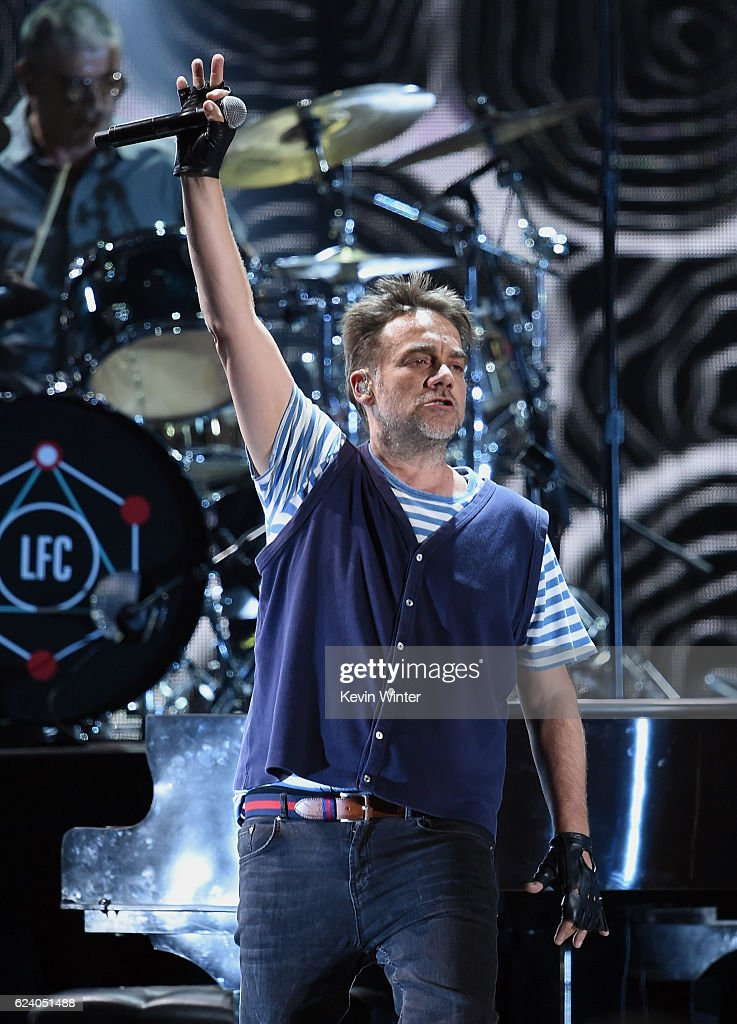 Musician Vicentico of Los Fabulosos Cadillacs performs onstage during The 17th Annual Latin Grammy Awards at T-Mobile Arena on November 17, 2016 in Las Vegas, Nevada.