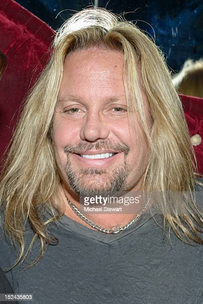 Musician Vince Neil visits Headquarters on September 20, 2012 in New York City.