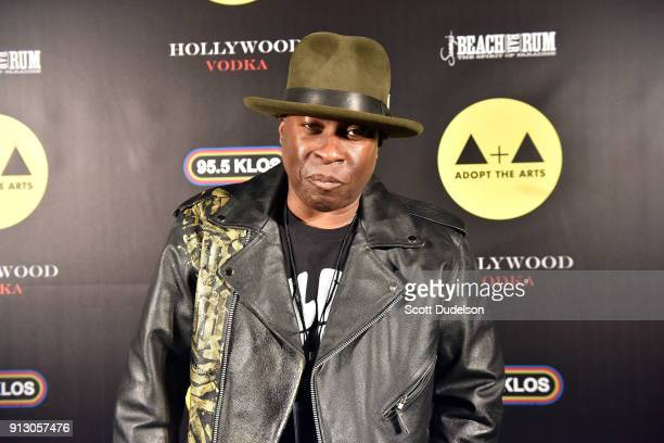 Musician Vince Wilburn Jr attends the Adopt the Arts annual rock gala at Avalon Hollywood on January 31 2018 in Los Angeles California