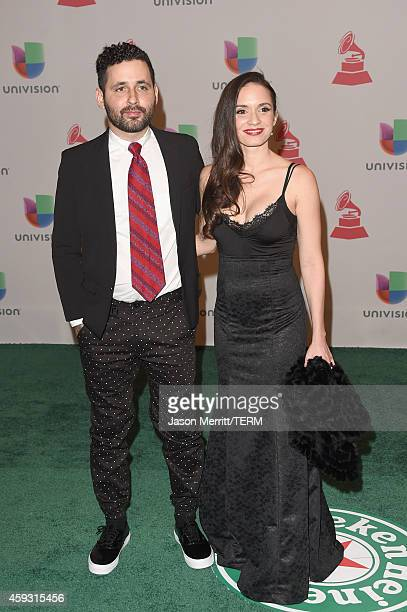 Musician Visitante of Calle 13 and singer Diana Fuentes attend the 15th Annual Latin GRAMMY Awards at the MGM Grand Garden Arena on November 20 2014...