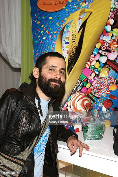 Musician Visitante of Calle 13 at the 8th Annual Latin GRAMMY Awards gift lounge at Mandalay Bay on November 7 2007 in Las Vegas Nevada