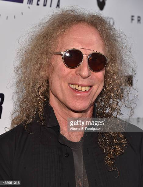 Musician Waddy Wachtel arrives to the Los Angeles premiere of Jimi All Is By My Side at ArcLight Cinemas on September 22 2014 in Hollywood California