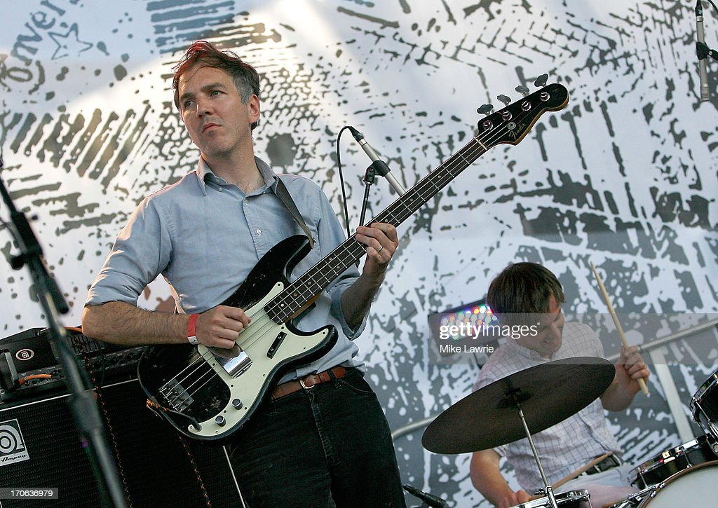 Musician Walter Martin of The Walkmen performs during the 2013 Northside Festival at McCarren Park on June 15, 2013 in the Brooklyn borough of New York City.