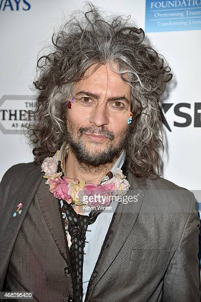 Musician Wayne Coyne of The Flaming Lips attends the David Lynch Foundation's DLF Live presents The Music Of David Lynch at The Theatre at Ace Hotel...