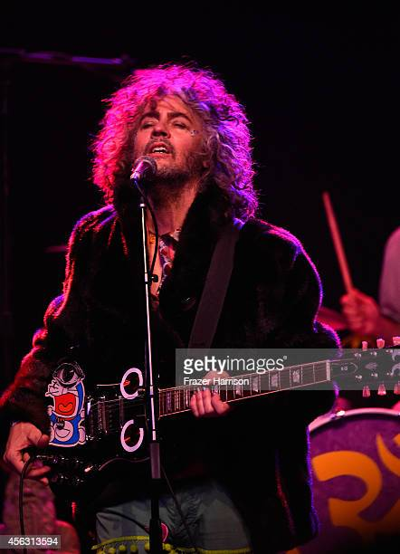 Musician Wayne Coyne of the Flaming Lips performs at The Best Fest Presents GEORGE FEST An Evening To Celebrate The Music Of George Harrison at The...