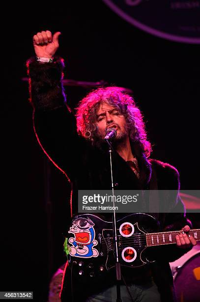 Musician Wayne Coyne of the Flaming Lips performs at theThe Best Fest Presents GEORGE FEST An Evening To Celebrate The Music Of George Harrison at...