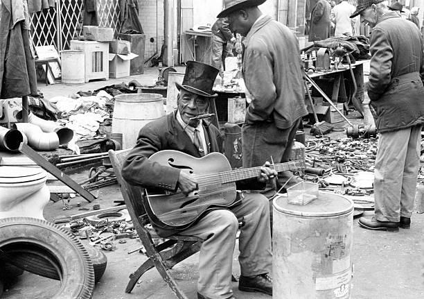 Musician on Maxwell Street.