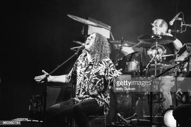 Musician 'Weird Al' Yankovic performs onstage at the Fox Theater during his 'Ridiculously SelfIndulgent IllAdvised Vanity Tour' on May 19 2018 in...