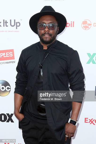 Musician william attends the Think It Up education initiative telecast for teachers and students hosted by Entertainment Industry Foundation at...