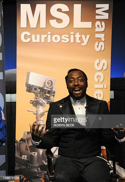 Musician William of The Black Eyed Peas speaks to bloggers about the convergence of art science and technology at a NASA social media event at the...