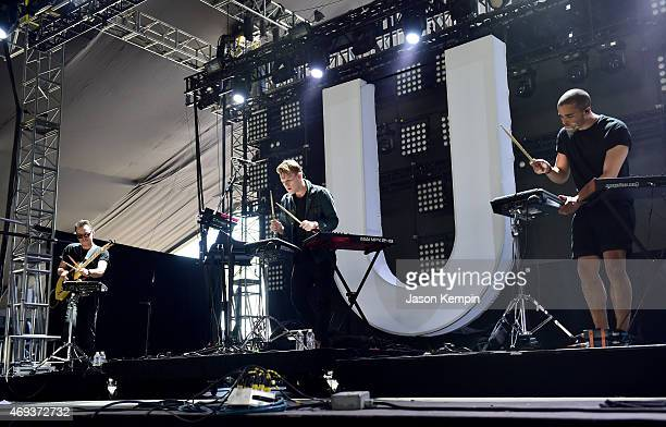 Musician William Phillips performs onstage during day 2 of the 2015 Coachella Valley Music Arts Festival at the Empire Polo Club on April 11 2015 in...
