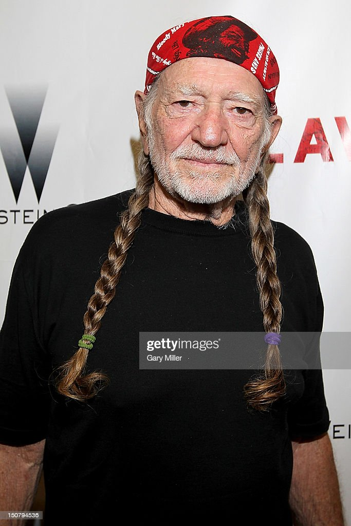 Lawless Premiere With Willie Nelson And Matt Bondurant : News Photo