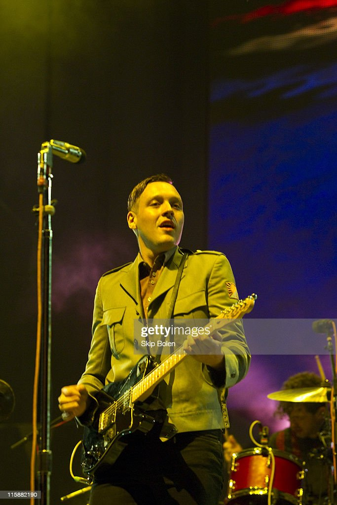 Musician Win Butler of Arcade Fire performs during the 2011
