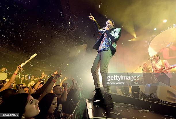 Musician Win Butler of Arcade Fire performs onstage during The 24th Annual KROQ Almost Acoustic Christmas at The Shrine Auditorium on December 8 2013...