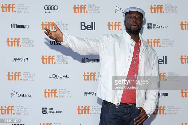 Musician Wyclef Jean attends the Venus Serena Premiere during the 2012 Toronto International Film Festival at the Ryerson Theatre on September 11...