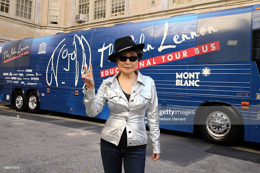 John Lennon Educational Tour Bus Event