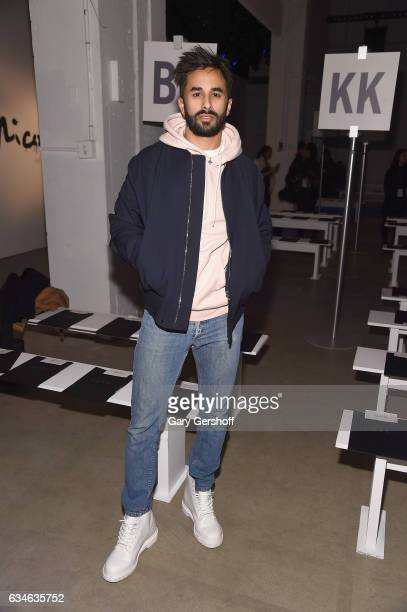 Musician Yonee attends the Cushnie Et Ochs fashion show during February 2017 New York Fashion Week at Gallery 1 Skylight Clarkson Sq on February 10...