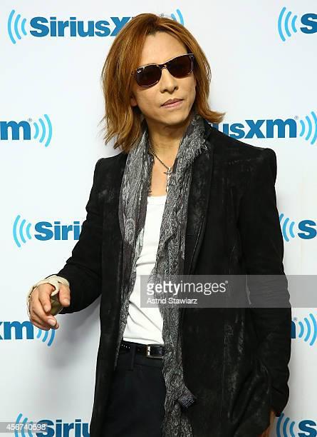 Musician Yoshiki visits the SiriusXM Studios on October 6 2014 in New York City