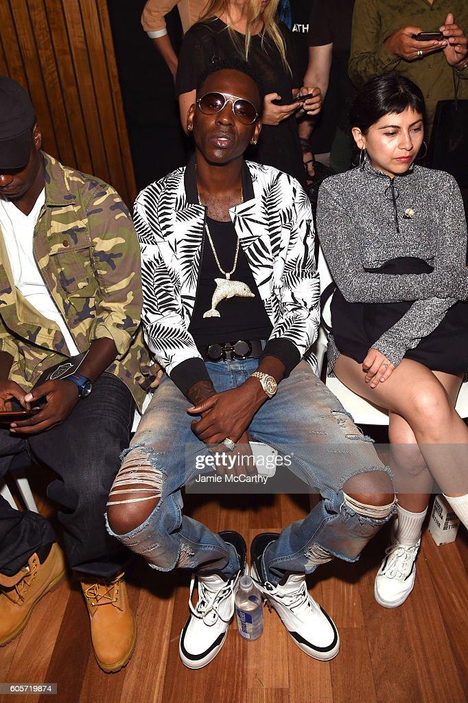Luar - Front Row - September 2016 - MADE Fashion Week