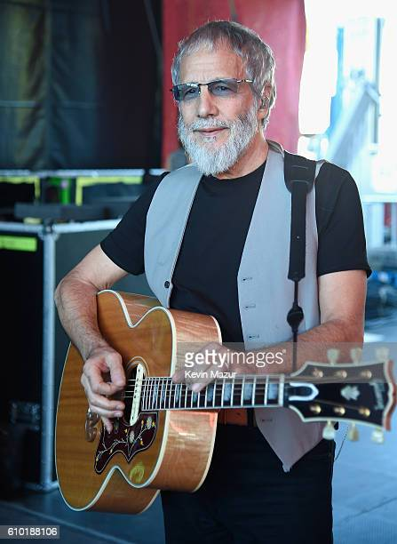 Musician Yusuf / Cat Stevens poses backstage at the 2016 Global Citizen Festival In Central Park To End Extreme Poverty By 2030 at Central Park on...