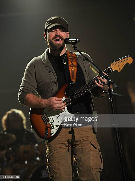 Musician Zac Brown of the Zac Brown Band performs during rehearsals for the 46th Annual Academy Of Country Music Awards held at the MGM Grand Garden...