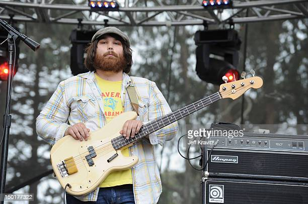 Musician Zac Cockrell of Alabama Shakes performs at the Sutro Stage during day 2 of the 2012 Outside Lands Music and Arts Festival at Golden Gate...