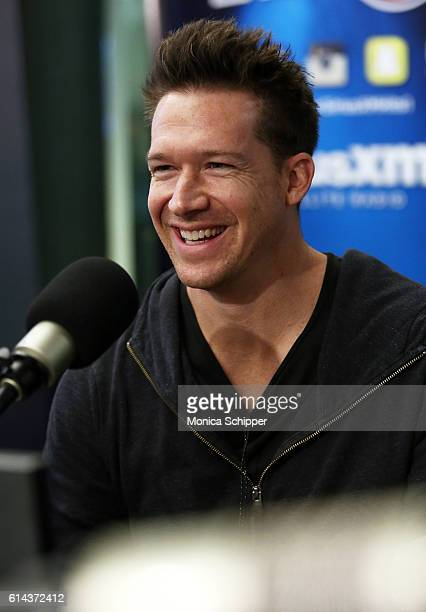 Musician Zach Filkins of band OneRepublic visits SiriusXM Studio on October 13 2016 in New York City