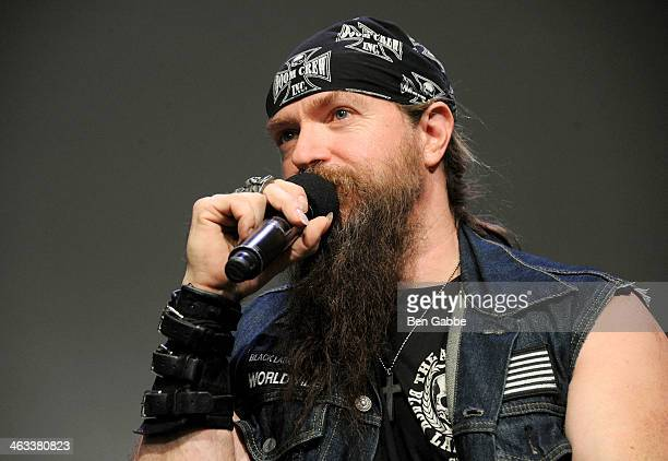 Musician Zakk Wylde attends Meet The Musicians at Apple Store Soho on January 17 2014 in New York City
