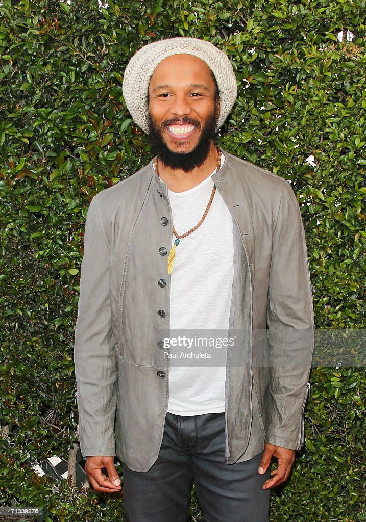 Musician Ziggy Marley attends the 12th Annual John Varvatos Stuart House Benefit at John Varvatos on April 26, 2015 in Los Angeles, California.