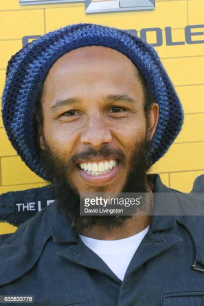 Musician Ziggy Marley attends the Premiere of Warner Bros Pictures' 'The LEGO Batman Movie' at the Regency Village Theatre on February 4 2017 in...