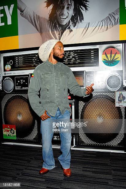 Musician Ziggy Marley son of Bob Marley attends The Grammy Museum Debut Of The New Exhibit Bob Marley Messenger celebrating the life and Music of Bob...