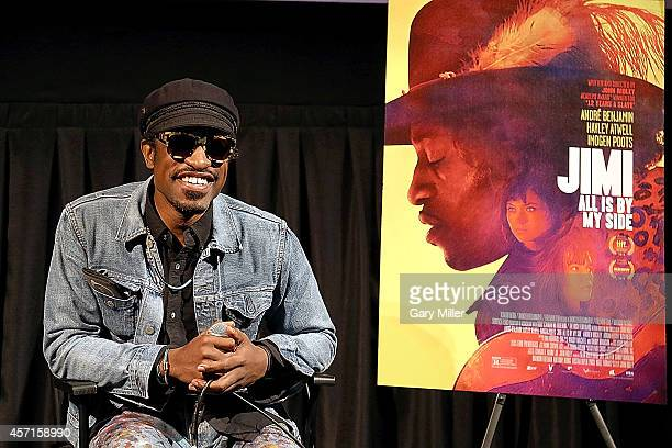 Musician/actor Andre Benjamin and director John Ridley attend a screening and QA for JIMI All Is By My Side hosted by The Austin Film Society and The...
