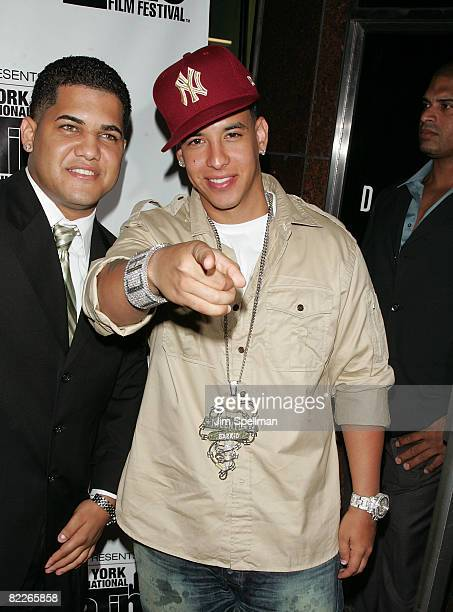 Musician/Actor Daddy Yankee attends the premiere Talent of the Barrio during the 9th Annual New York International Latino Film Festival at the...