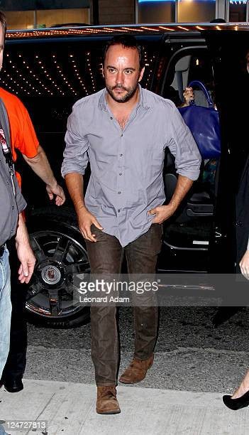 Musician/Actor Dave Matthews arrives at the premiere of 'The Woman In The Fifth' at Winter Game Theatre during the 2011 Toronto International Film...