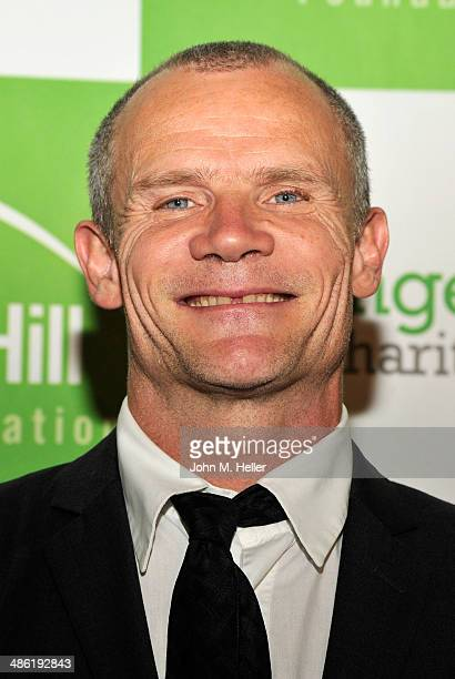 Musician/actor Flea attends the Liberty Hill's Upton Sinclair Awards dinner at The Beverly Hilton Hotel on April 22 2014 in Beverly Hills California