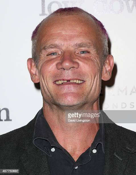 Musician/actor Flea attends the premiere of Oscilloscope Laboratories' Lowdown at ArcLight Hollywood on October 23 2014 in Hollywood California