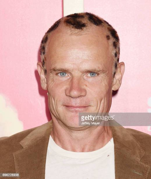 Musicianactor Flea attends the premiere of Sony Pictures' 'Baby Driver' at Ace Hotel on June 14 2017 in Los Angeles California