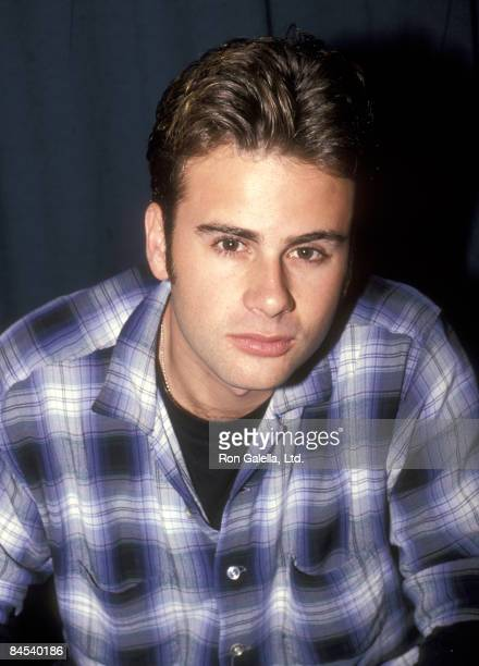 Musician/Actor Jamie Walters Autographs Copies of His New Album Jamie Walters on December 17 1994 at Sam Goody's Garden State Plaza Mall in Paramus...