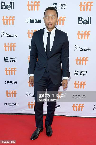Musician/Actor John Legend attends the La La Land premiere during the 2016 Toronto International Film Festival at Princess of Wales Theatre on...