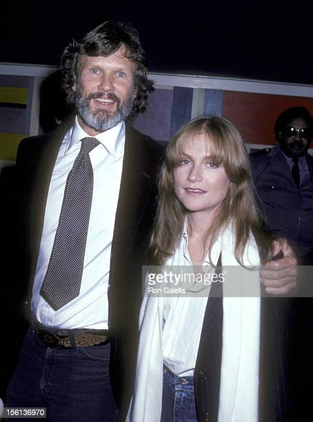 Musician/Actor Kris Kristofferson and Actress Isabelle Huppert attend the 'Heaven's Gate' New York City Premiere on November 18 1980 at Cinema I in...