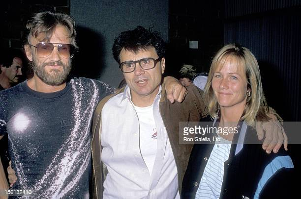 Musician/Actor Kris Kristofferson and wife Lisa Meyers and Actor Robert Blake attend the 'Coverup Behind the Iran Contra Affair' West Hollywood...