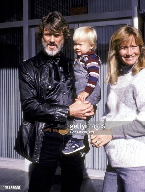 Musician/Actor Kris Kristofferson wife Lisa Meyers and son Jesse Kristofferson attend the West Hollywood Premiere of 'The Falcon and the Snowman' on...