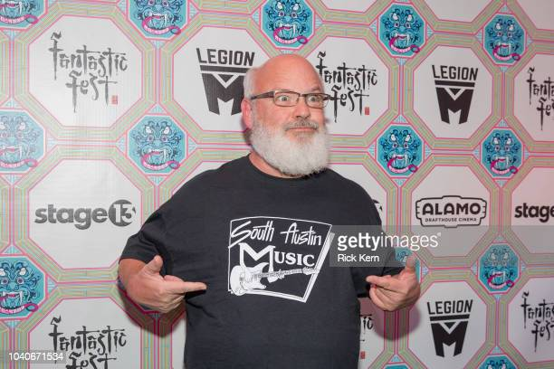 Musician/actor Kyle Gass of Tenacious D attends the Texas premiere of 'Tenacious D in Post Apocalypto' during Fantastic Fest at the Alamo Drafthouse...
