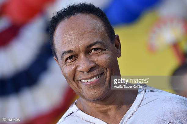 Musician/actor Ray Parker Jr arrives at the premiere of Sony's 'Sausage Party' at Regency Village Theatre on August 9 2016 in Westwood California