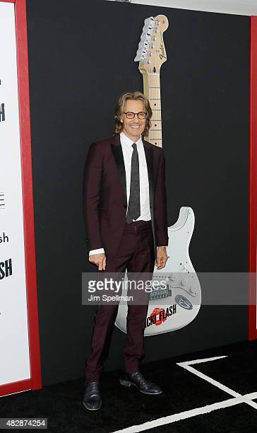 Musician/actor Rick Springfield attends the 'Ricki And The Flash' New York premiere at AMC Lincoln Square Theater on August 3 2015 in New York City
