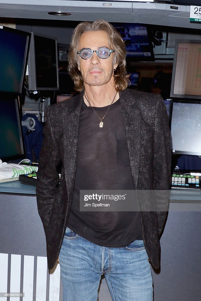 Rick Springfield Rings The NYSE Closing Bell