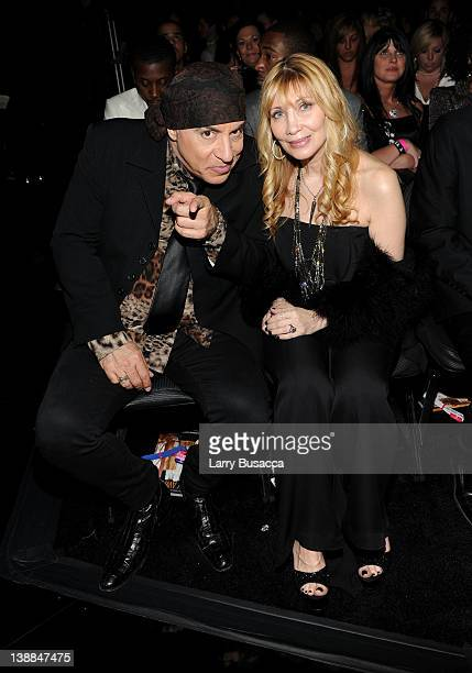 Musician/actor Steven Van Zandt and wife Maureen attend the 54th Annual GRAMMY Awards held at Staples Center on February 12 2012 in Los Angeles...